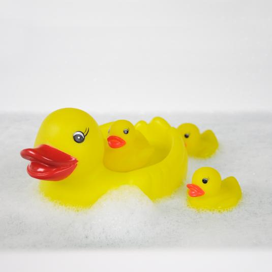 Classic Bathtime Ducks