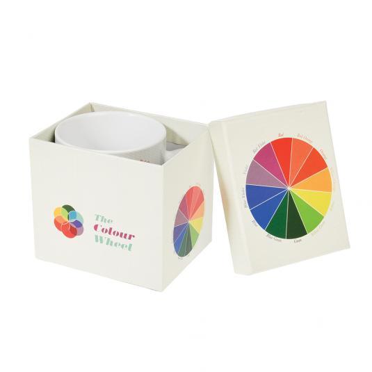 Colour Wheel Ceramic Mug In a Gift Box