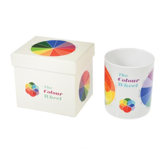 Colour Wheel Mug In Gift Box