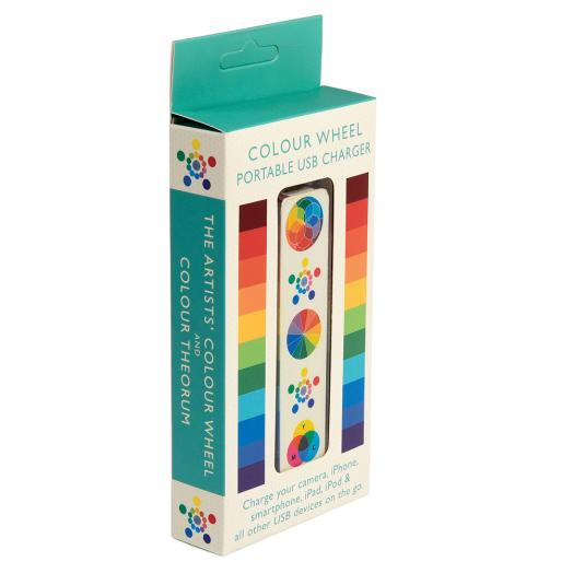 Colour Wheel USB Charger