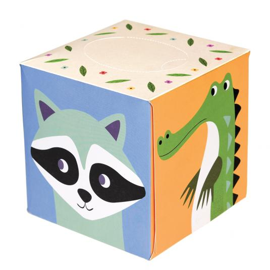 Colourful Animal Print Boxed Tissues