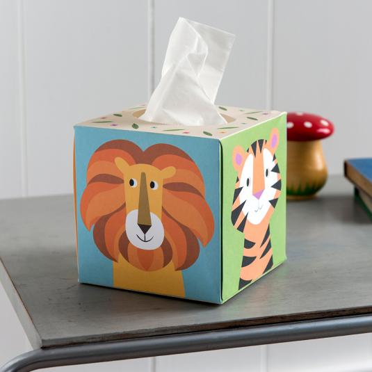 Colourful Animals Boxed Tissues