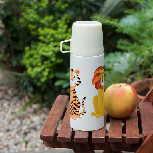 Jungle Animals Flask