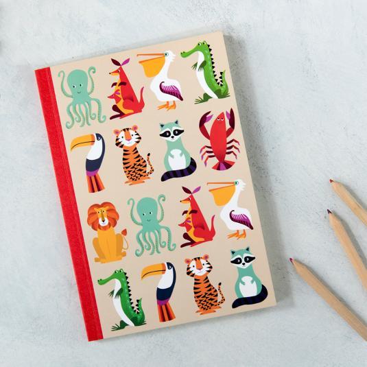 A5 Jungle Animal Notebook