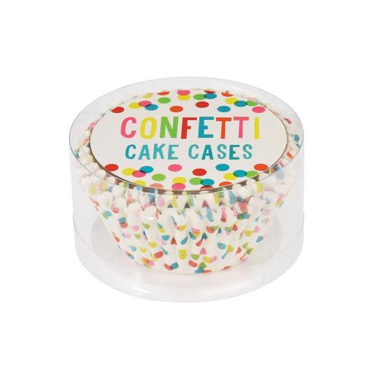 50 Polka Dot Print Cupcake Cases