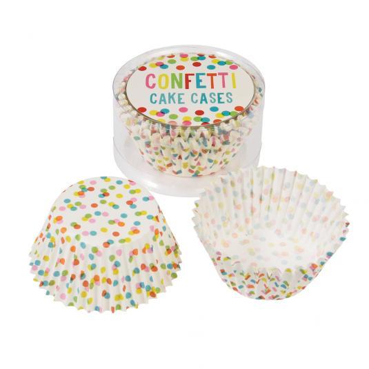 50 Confetti Fairy Cake Cases