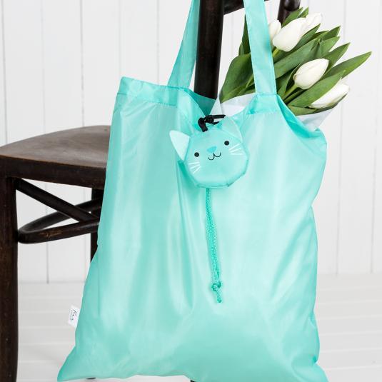 Cat Folding Bag