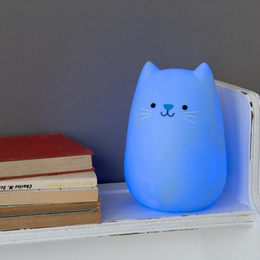Cookie the Cat battery powered LED night light