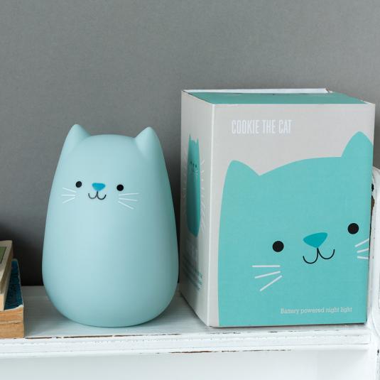 LED cat night light in presentation box