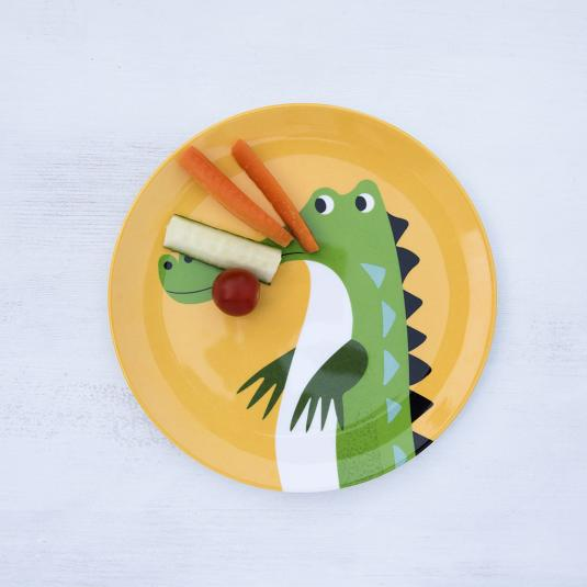 Harry The Crocodile Melamine Plate