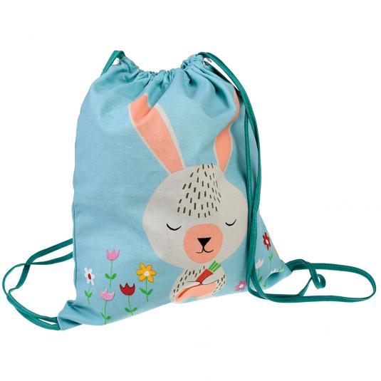 Kids Daisy the Rabbit Drawstring Bag