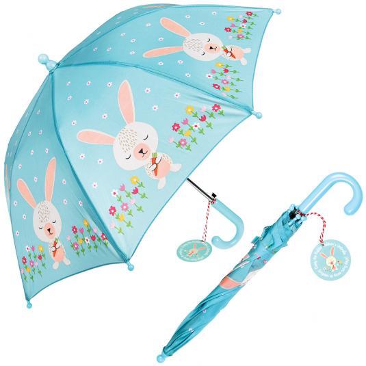 Daisy The Rabbit Blue Kids Umbrella