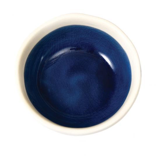 Cobalt Santana Dipping Bowl