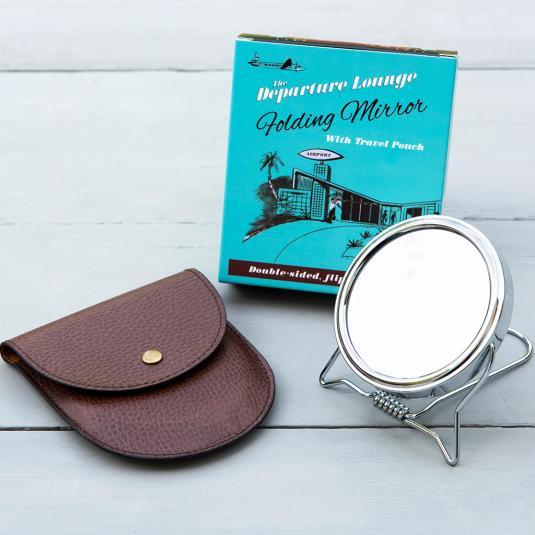Departure Lounge Travel Mirror