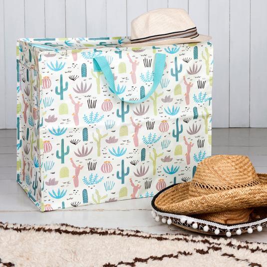 Cactus Jumbo Storage Bag