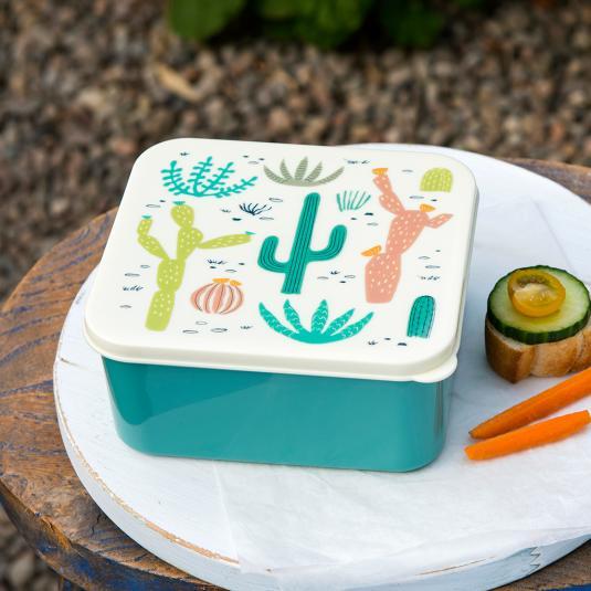 Desert In Bloom sandwich size Lunch Box