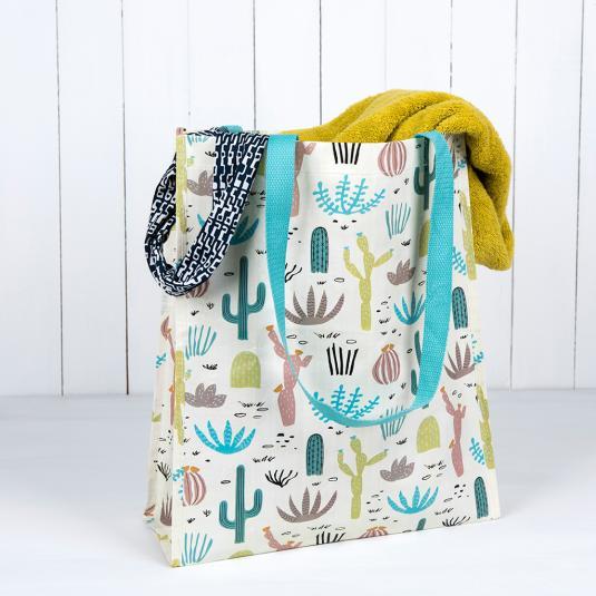 Desert In Bloom Shopper Bag