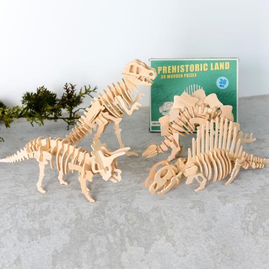dinosaur 3d Wooden Puzzle