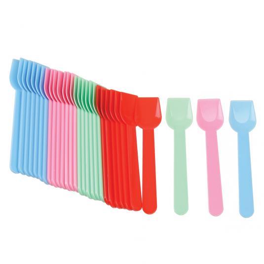 Disposable ice cream spoons