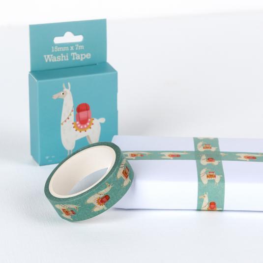 Dolly Llama blue Washi Tape