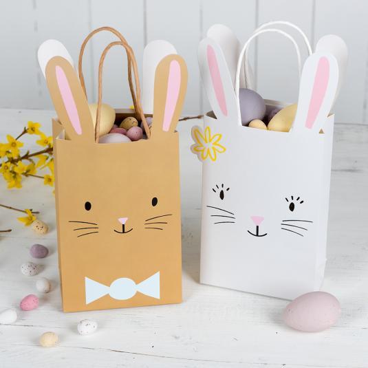 79e50377b414 White Easter Bunny Bag | Rex London (dotcomgiftshop)