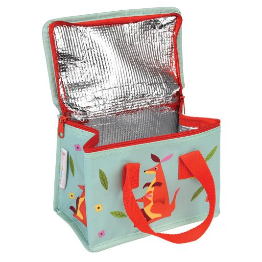 Foldable kangaroo lunch bag
