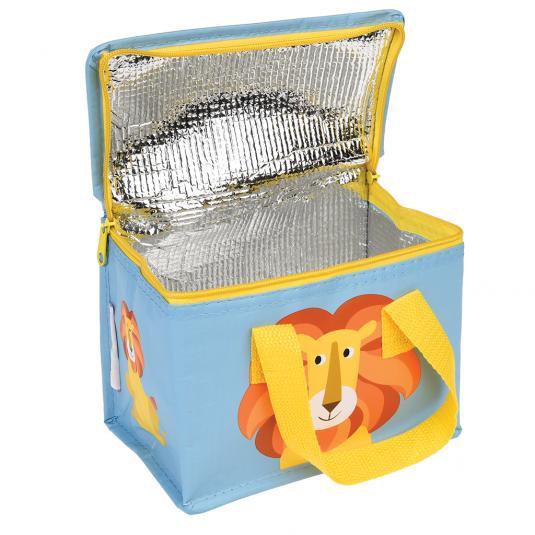 Foldable lion lunch bag