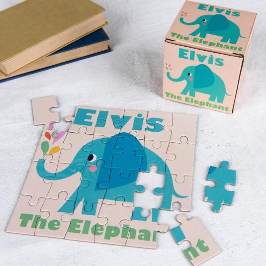 Elvis The Elephant Mini Puzzle