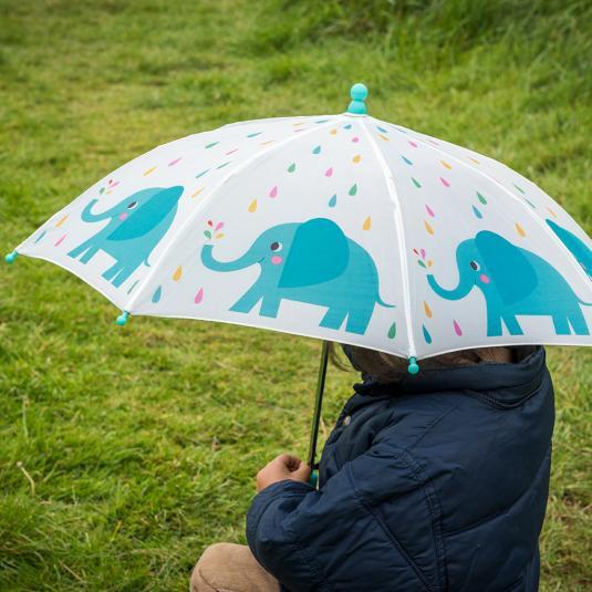 Elvis The Elephant Kids Umbrella