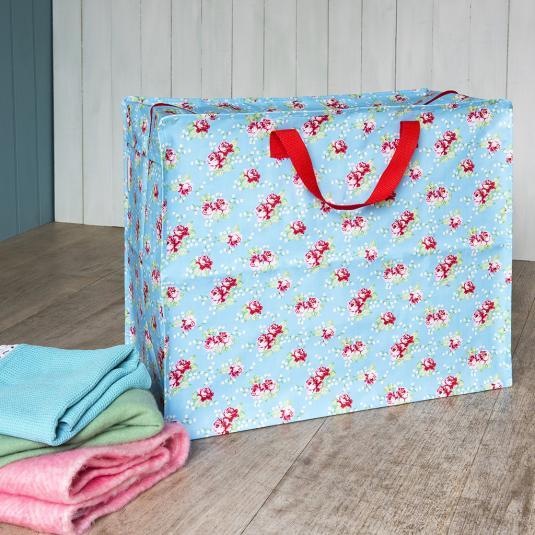 English Rose Floral Jumbo Storage Bag