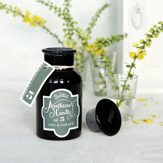 Fig And Grape Apothecary Candle in a Jar