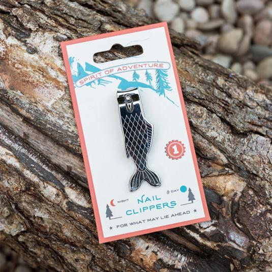 Fish shaped nail clippers
