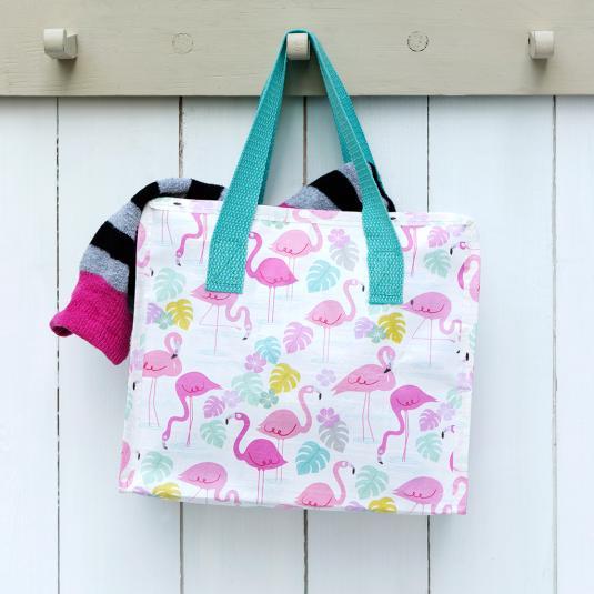 Flamingo Bay Charlotte tote Bag