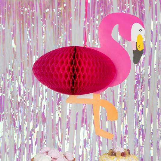 Pink Flamingo hanging Decoration