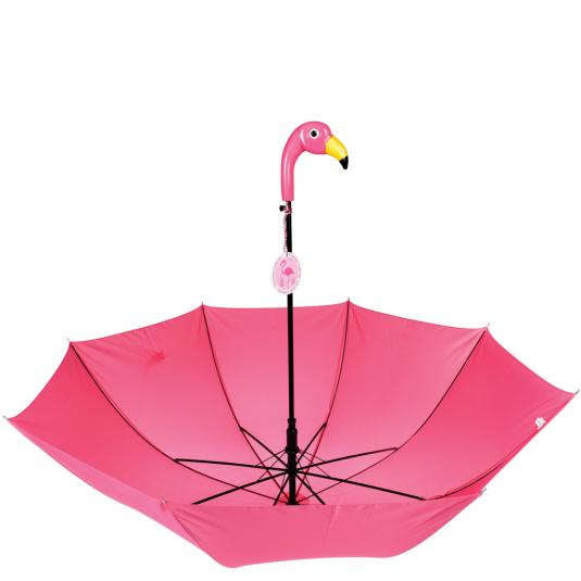 Pink Flamingo Bay umbrella parasol