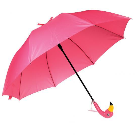 Flamingo Umbrella and stand