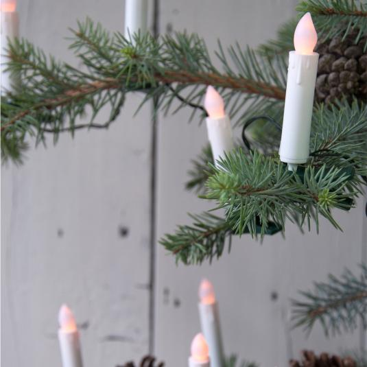 Flickering Christmas Candle Led Tree Lights