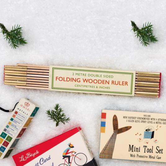 2 Metre Folding Wooden Ruler