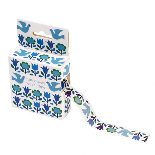 blue bird wedding gift tape