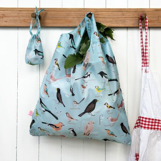 Garden Birds Foldaway Bag