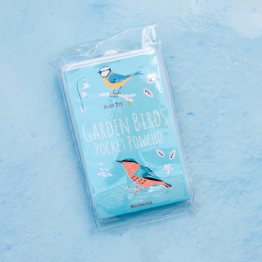 Garden Birds Emergency Rain Poncho