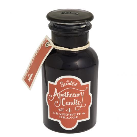 Grapefruit And Orange Apothecary jar Candle