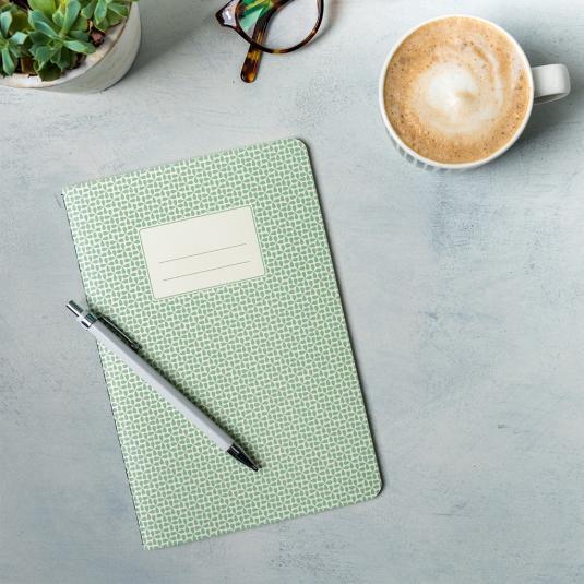 Green A5 Notebook