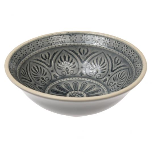 Grey mezze dish