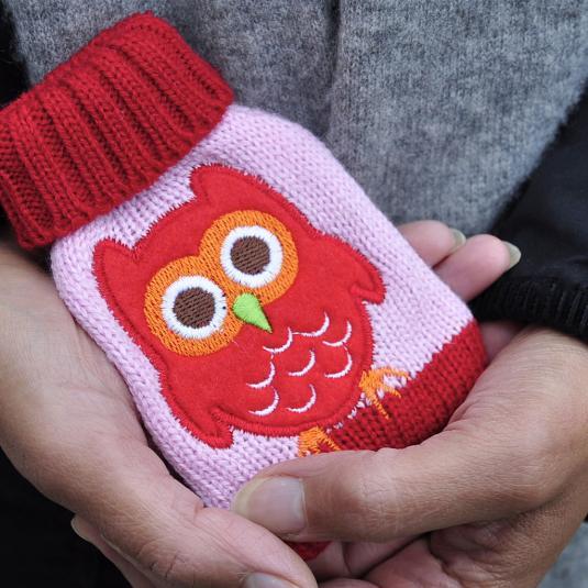 Hand Warmer Owl
