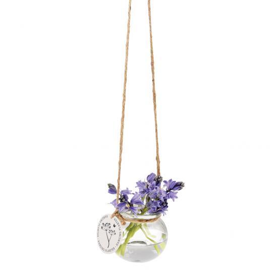 Hanging Glass Mini Posy Planter