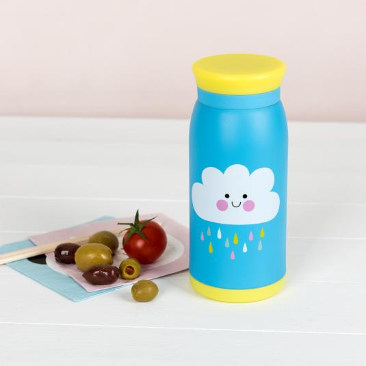 Happy Cloud Stainless Steel Flask