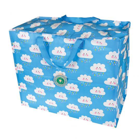 Cloud jumbo storage bag for bedrooms, playrooms and car storage