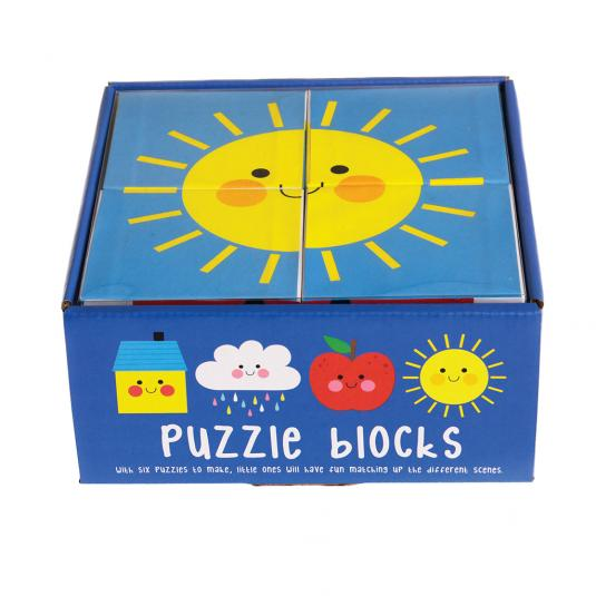 Happy Cloud Puzzle Blocks for toddlers and children