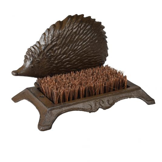 Hedgehog Shaped Boot Brush
